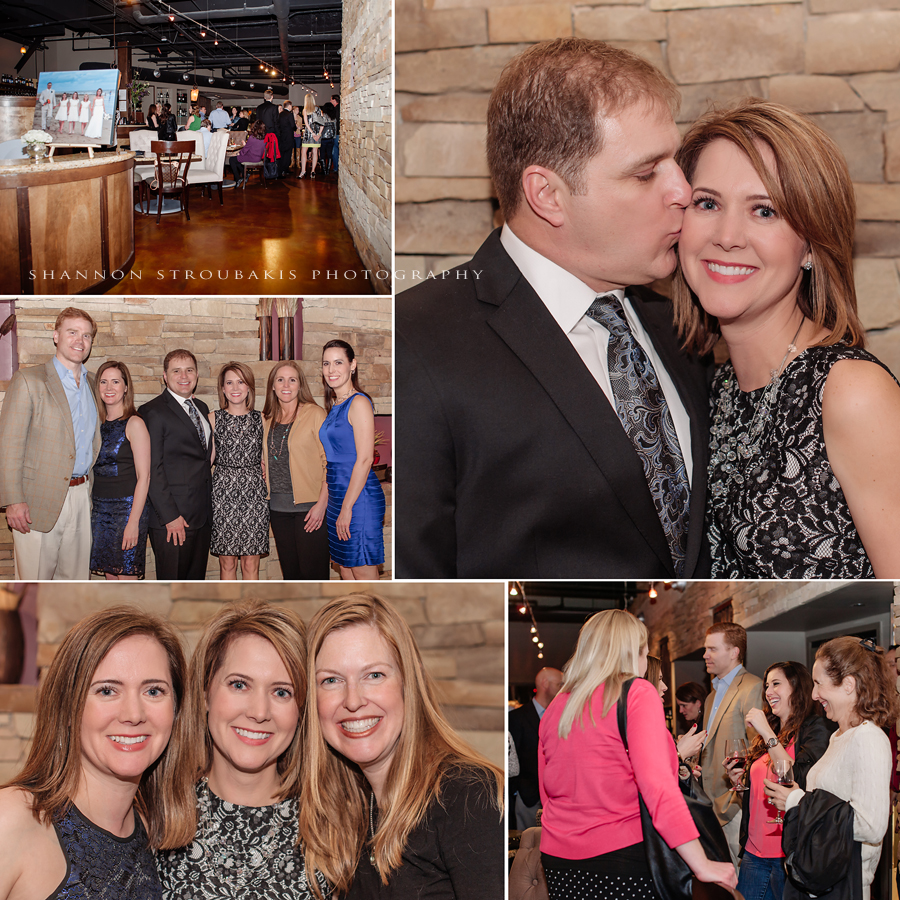 event in the woodlands at crush wine lounge