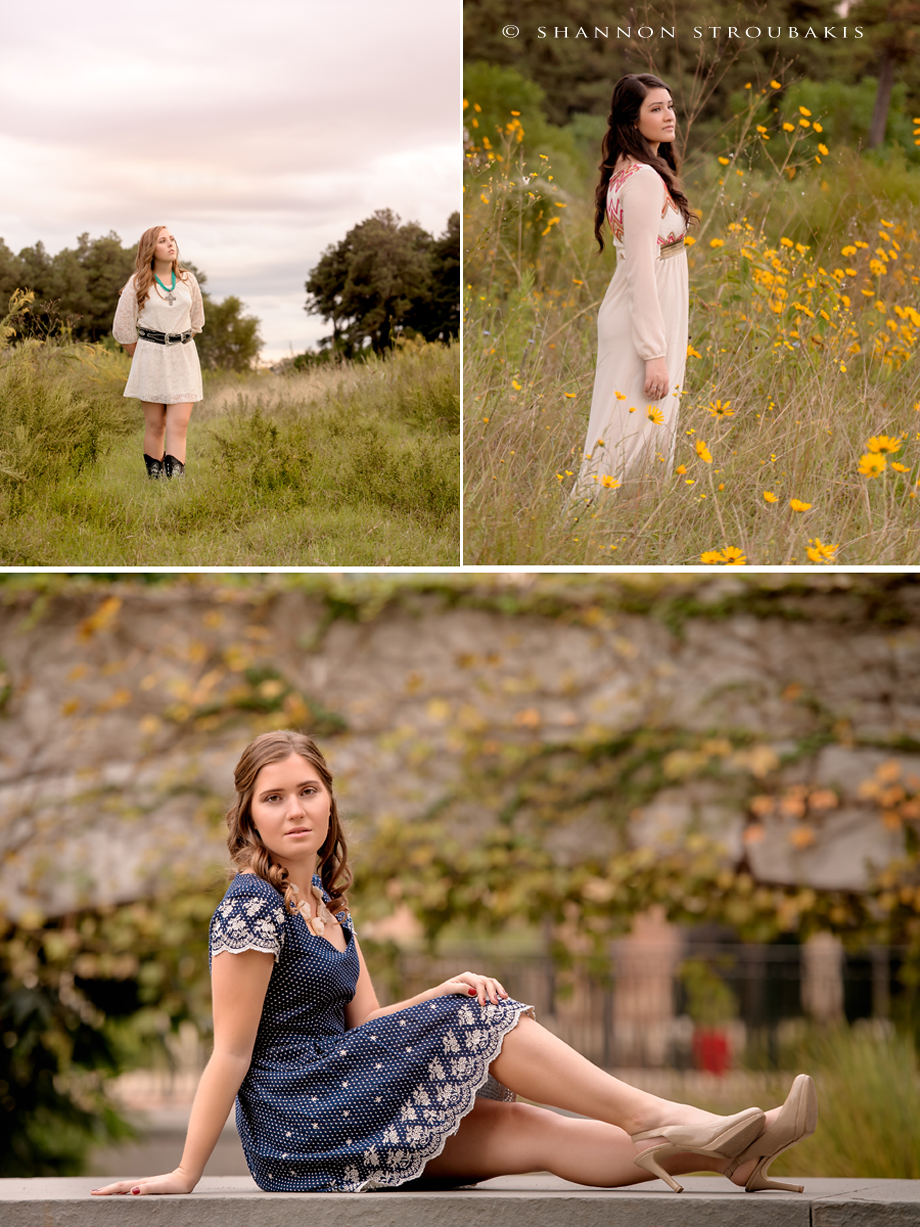 What to Wear for Senior Pictures in the Woodlands and Spring u2013 Girly Spring Dress Edition u00bb The ...