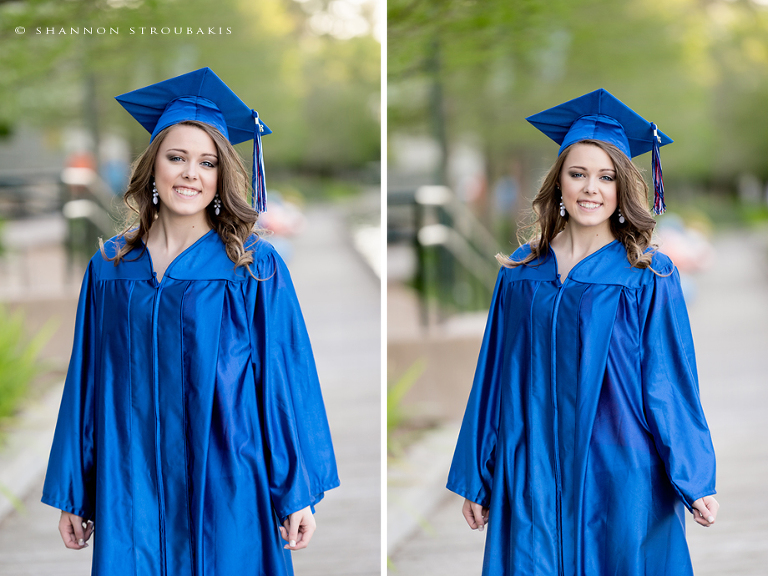 Graduation Pictures in the Woodlands – Cap and Gown Portraits » The ...