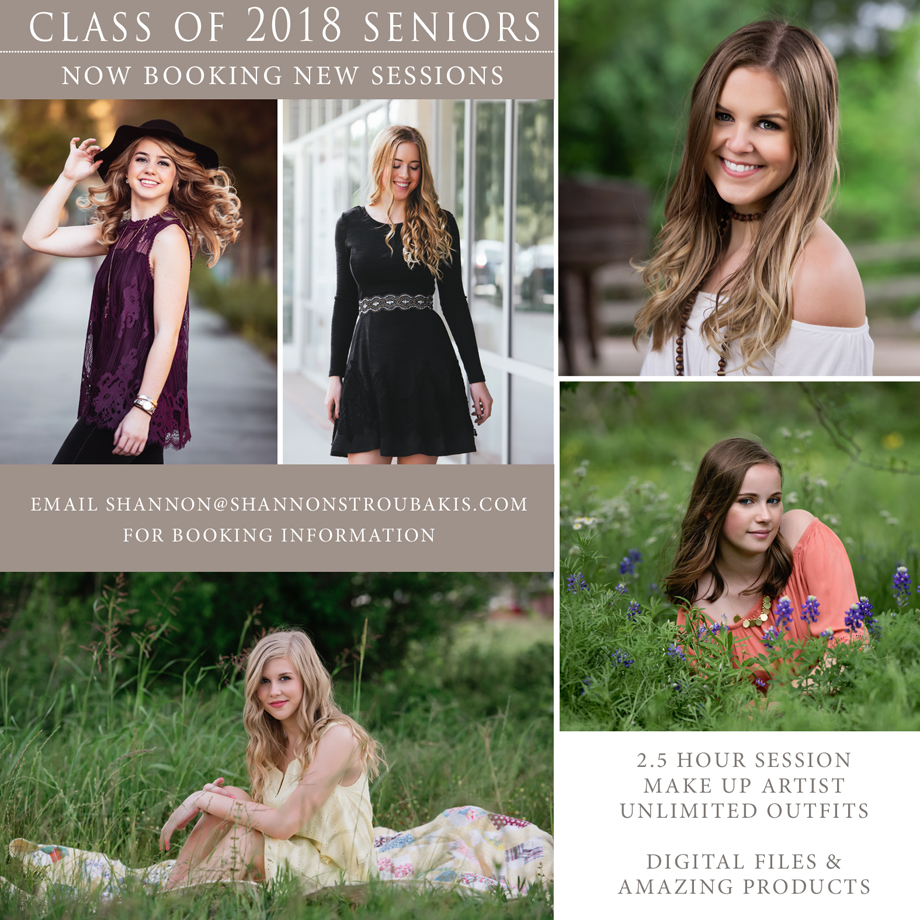 ad for senior photographer in the woodlands, spring and conroe texas for senior photography