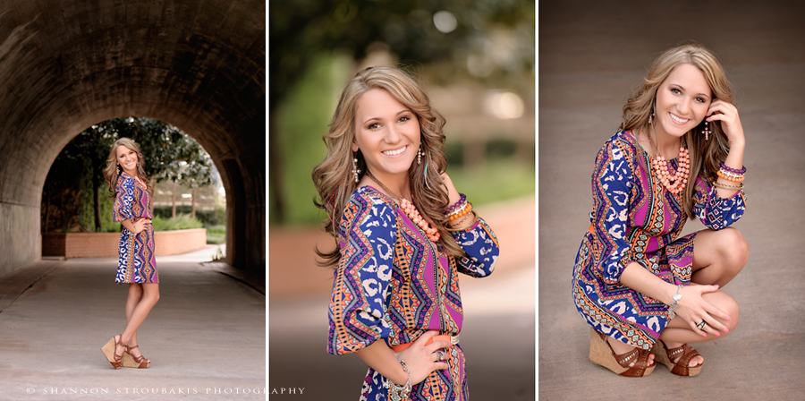Senior Portraits In The Woodlands Chic Urban Spring And Conroe Engagement Maternity Family Photographer Shannon Stroubakis